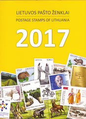 2017 Lithuania Year Set (MNH)