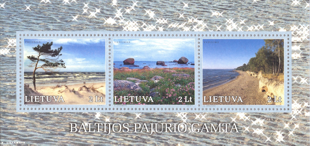 #699 Lithuania - Baltic Coast Landscapes S/S (MNH)