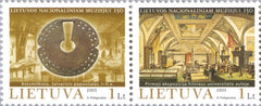 #792 Lithuania - National Museum, 150th Anniv. Pair (MNH)