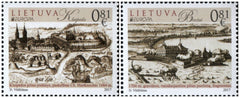 Lithuania - 2017 Europa: Castles, Set of 2 (MNH)