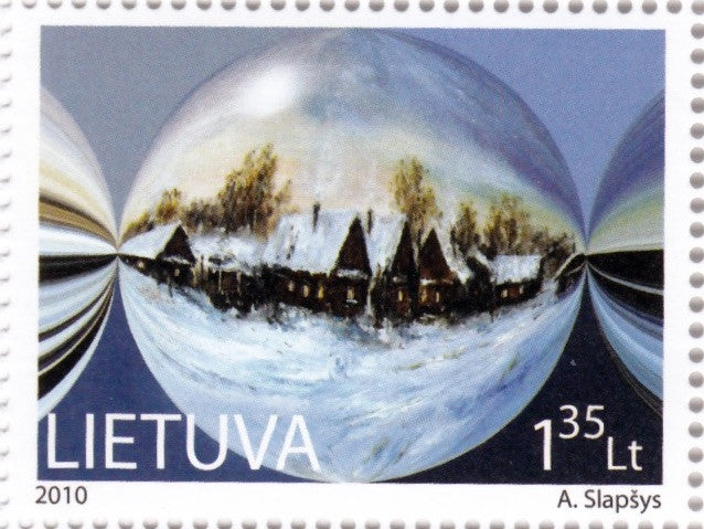 #928-929 Lithuania - Christmas and New Year 2011 (MNH)