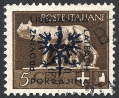 #N36 Ljubljana - Stamps of Italy, 1929-1942 Overprinted (Used)
