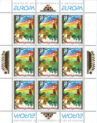#97 Macedonia - 1997 Europa: Stories and Legends M/S (MNH)