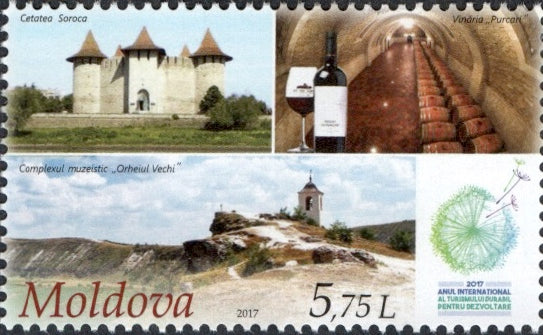 #939 Moldova - Intl. Year of Sustainable Tourism For Development (MNH)