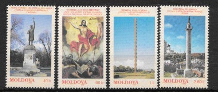 #271-274 Moldova - Monuments and Works of Art (MNH)