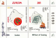 #158a Montenegro - 2007 Europa: Scouting, Cent. S/S (MNH)