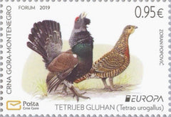 #442 Montenegro - 2019 Europa: National Birds (MNH)
