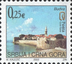 #120-121 Montenegro - Budva and Durmitor, Set of 2 (MNH)