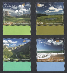 #279-282 Montenegro - 2011 Tourism, Set of 4 (MNH)