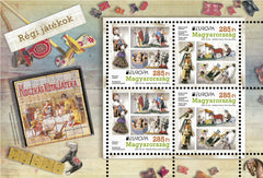 #4352 Hungary - Europa, Toys M/S (MNH)