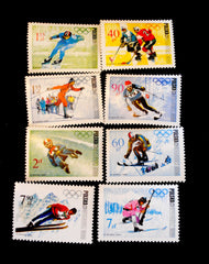 #1561-1568 Poland - 10th Winter Olympic Games (MNH)
