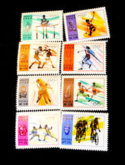 #1594-1601 Poland - 19th Olympic Games (MNH)