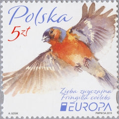 #4411 Poland - 2019 Europa: National Birds (MNH)