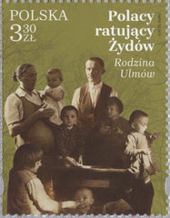 #4406 Poland - Nazi Execution of Family of Jozef and Wiktoria Ulma (MNH)