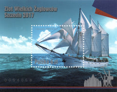 #4293 Poland - 2017 Rally of Great Sailing Ships - Szczecin S/S (MNH)