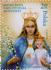 #4327 Poland - Virgin Mary, Teacher of Youth (MNH)