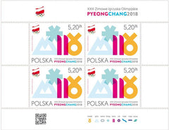 Poland - 2018 XXIII Winter Olympic Games M/S (MNH)