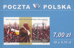 #3460 Poland - Visit of Pope John Paul II, Complete Booklet (MNH)