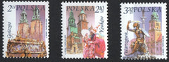#3623-2635 Poland - City Landmarks, Set of 3 (MNH)
