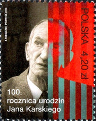 #4117 Poland - Jan Karski (MNH)