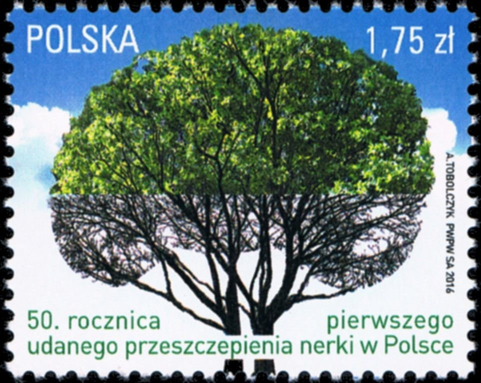#4213 Poland - First Successful Kidney Transplant in Poland, 50th Anniv. (MNH)