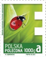 #F5-F8 Poland - 2013 Insects, Set of 4 (MNH)
