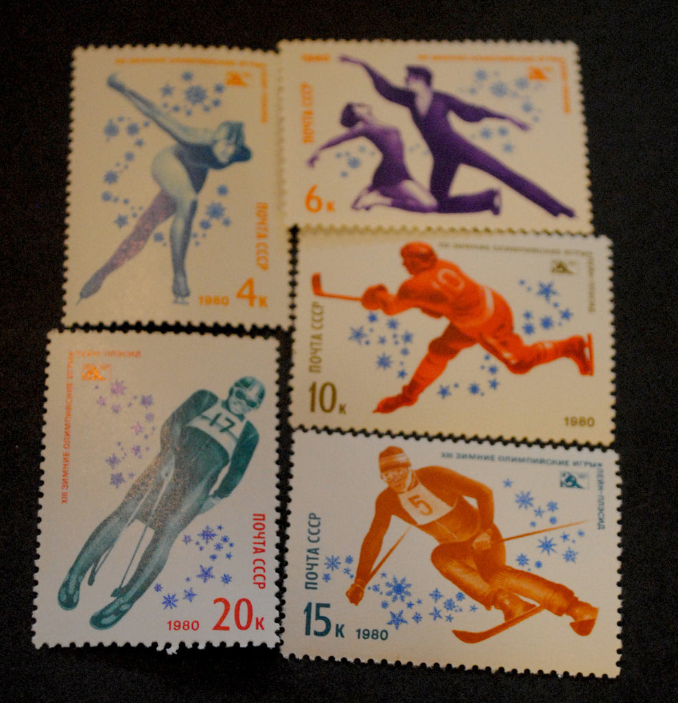 #4807-4811 Russia - 13th Winter Olympic Games (MNH)