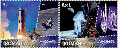 #6290-6291 Romania - 2019 Moon Landing, 50th Anniv., Set of 2 (MNH)