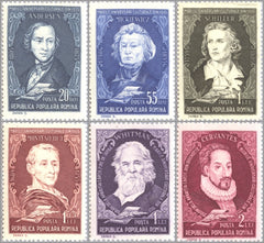 #1072-1077 Romania - Famous Writers (MNH)