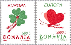 #4193-4194 Romania - 1998 Europa: Festivals and National Celebrations (MNH)