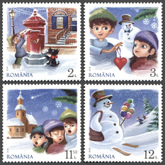 #6205-6208 Romania - Holiday Season Traditions (MNH)