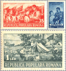#777-779 Romania - Young Pioneers (MNH)