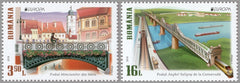 #6087-6088 Romania - 2018 Europa: Bridges (MNH)