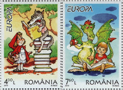 #5166-5167 Romania - 2010 Europa: Children's Books, Set of 2 (MNH)
