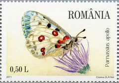 #5248-5253 Romania - Butterflies and Moths (MNH)
