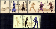 #4629-4631 Romania - Women's Fashions Type of 2003 (MNH)