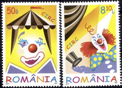 #5272-5273 Romania - Circus, Set of 2 (MNH)