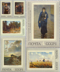 #3896-3901 Russia - Paintings (MNH)
