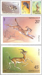 #5388-5392 Russia - Endangered Wildlife (MNH)