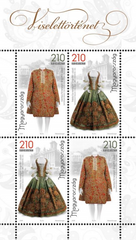 #4462 Hungary - 17th Century Wedding Costumes M/S (MNH)