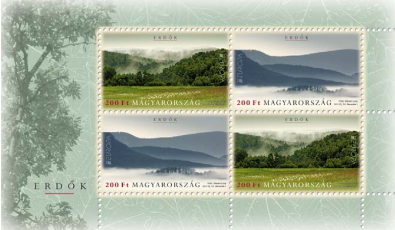 #4207 Hungary - 2011 Europa: Intl. Year of Forests M/S (MNH)