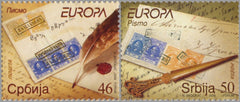 #431-432 Serbia - 2008 Europa: Writing Letters (MNH)