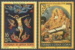 #240-241 Serbia - 2004 Easter, Set of 2 (MNH)