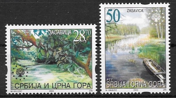 #192-193 Serbia - Nature Protection (MNH)