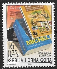 #212 Serbia - 2003 Stamp Day (MNH)