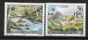 #253-254 Serbia - Nature Protection (MNH)