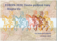 Slovakia - 2020 Europa: Ancient Mail Routes – The Magna Via, Booklet (MNH)