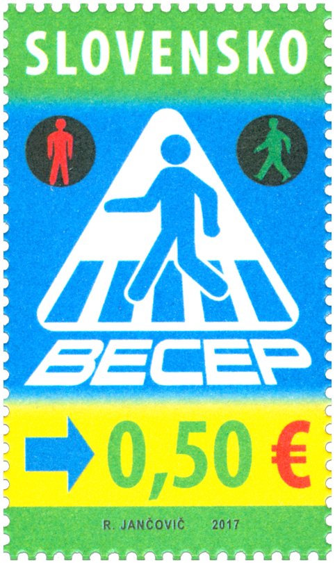 #780 Slovakia - BECEP Traffic Safety (MNH)
