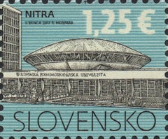 #757 Slovakia - The Slovak University of Agriculture (MNH)