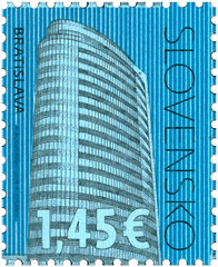 #785 Slovakia - Architecture and Architectural Decoration Type of 2009 (MNH)